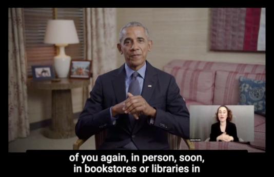 President Barack Obama video message