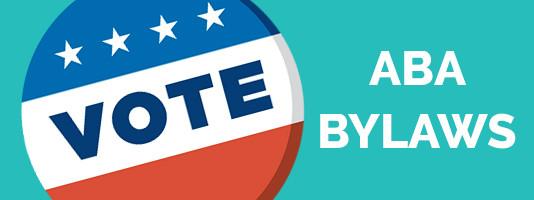 Vote ABA Bylaws