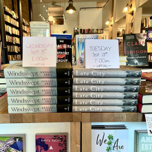 Release of WINDSWEPT and LATE CITY