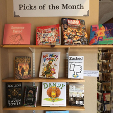 Staff picks of the month at Old Firehouse Books