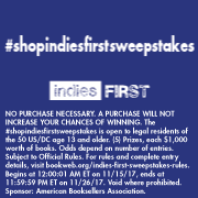 Shop Indies First Sweepstakes