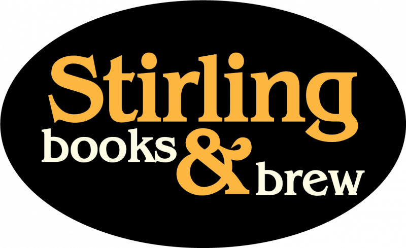 Stirling Books & Brew logo