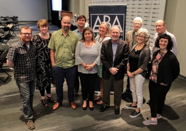 The 2017-2018 ABA Board of Directors with President Robert Sindelar.