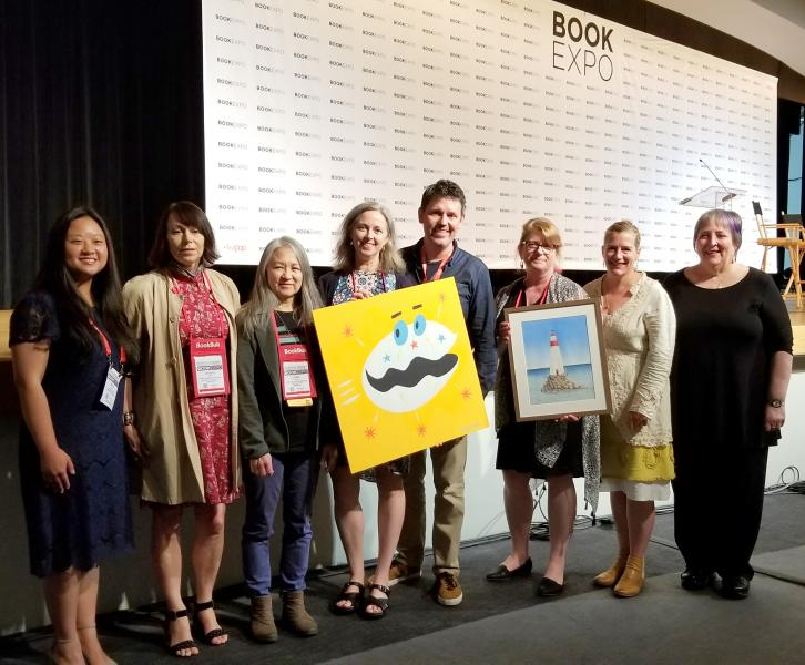 2018 Pannell winners at BookExpo
