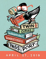 The Twin Cities' 2019 Independent Bookstore Day Passport, Credit Kevin Cannon