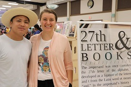 Drew and Erin Pineda of 27th Letter Books. Credit: Kara Stoltze