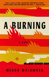 The cover image for A BURNING