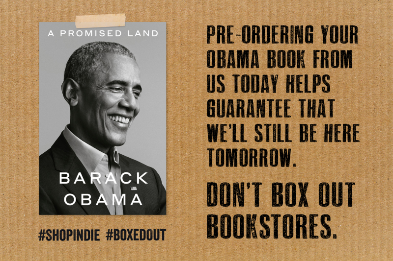 Pre-order Obama Book #BoxedOut