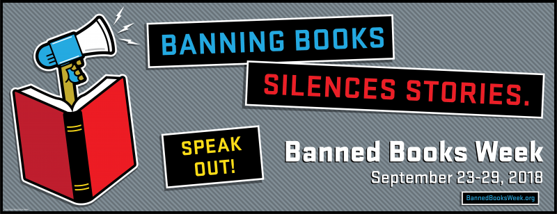 Banning Books Silences Stories: Banned Books Week