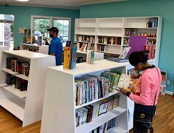 An inside look at A Little Bookish in Ooltewah, Tennessee.