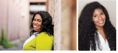 Authors Angie Thomas and Nic Stone