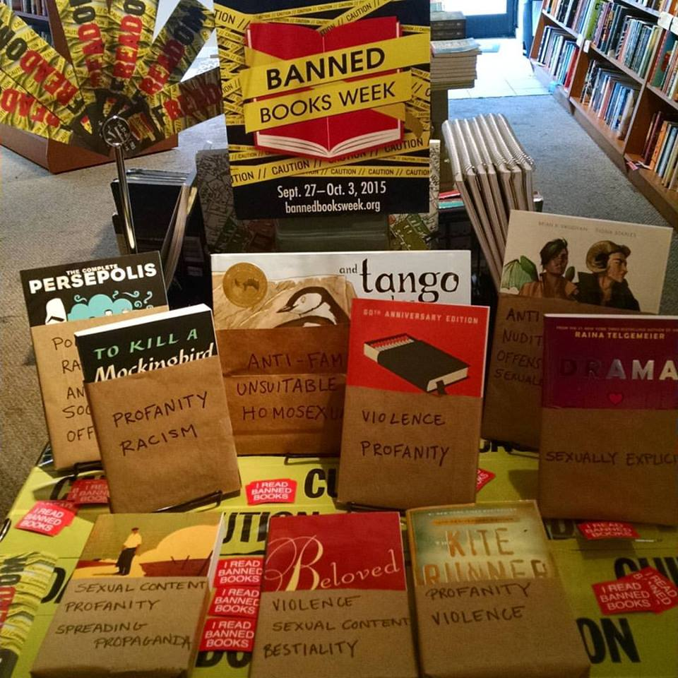booksellers u2019 creativity on display during banned books