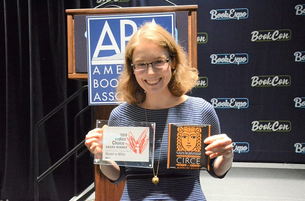 Author Madeline Miller received both the Adult Fiction Book of the Year Award and the Audiobook of the Year Award.