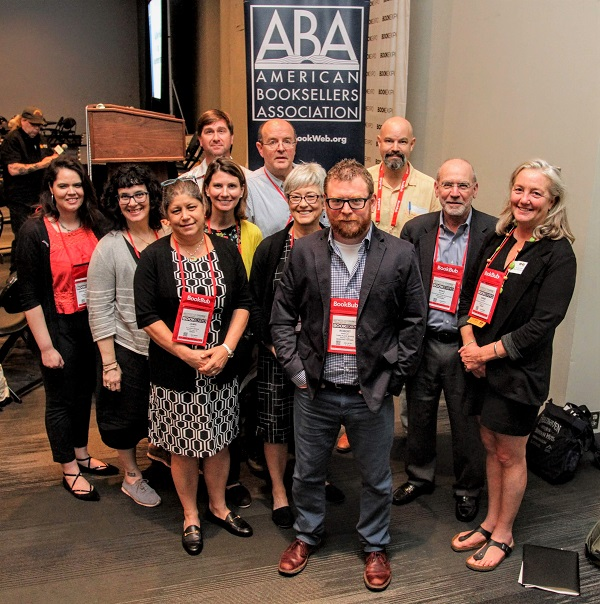 The ABA Board gathered for a photo shoot following the Town Hall.