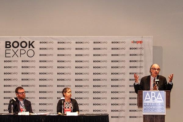 ABA CEO Oren Teicher spoke at the Annual Meeting.