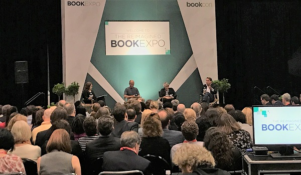 The BookExpo leadership roundtable drew a crowd.