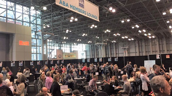 The ABA Member Lounge was busy every day.