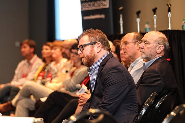 The ABA Board addressed bookseller questions during the Town Hall.