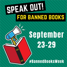Banned Books Week promotional image