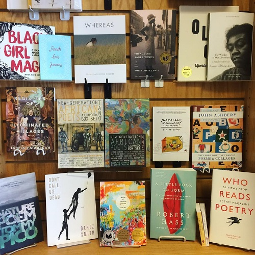 Book Beat Detroit Poetry Month Display