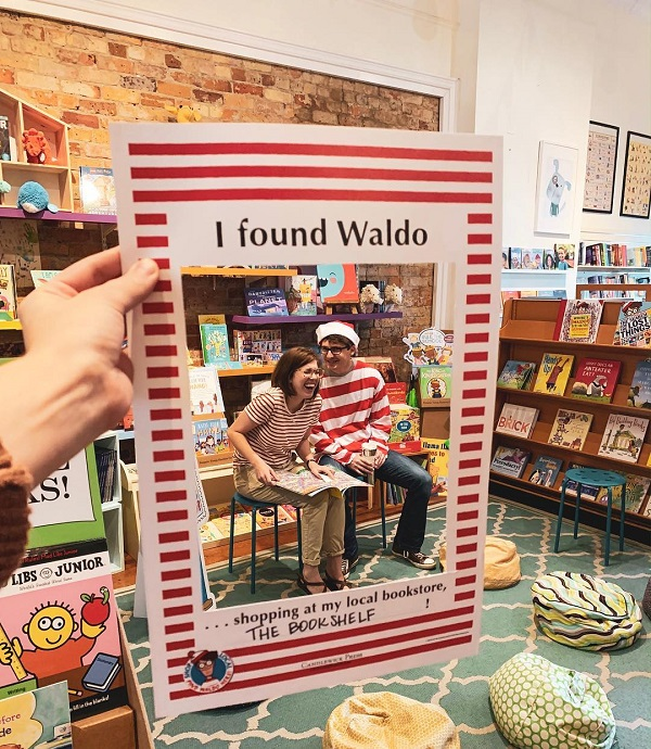 Taken during the Find Waldo Local celebration at The Bookshelf in Thomasville, Georgia.