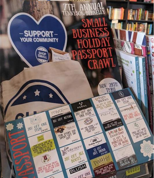 Small Business Saturday at BookBar in Denver, Colorado.