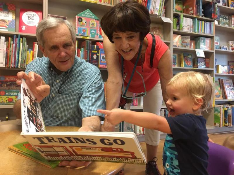 Rep. Lloyd Doggett at BookPeople