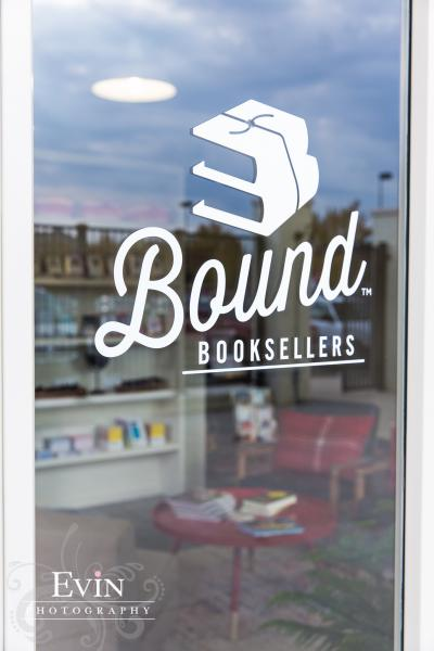 Bound Booksellers window