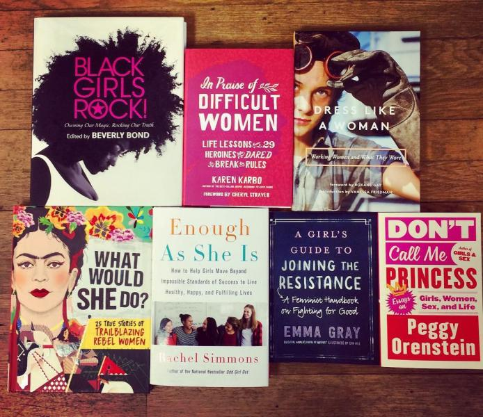 Charis Books & More Women's History Month display