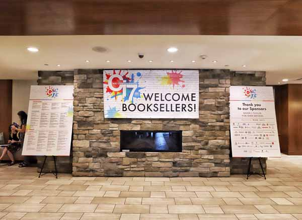Booksellers were greeted at the DoubleTree in Green Tree for the seventh annual Children's Institute.