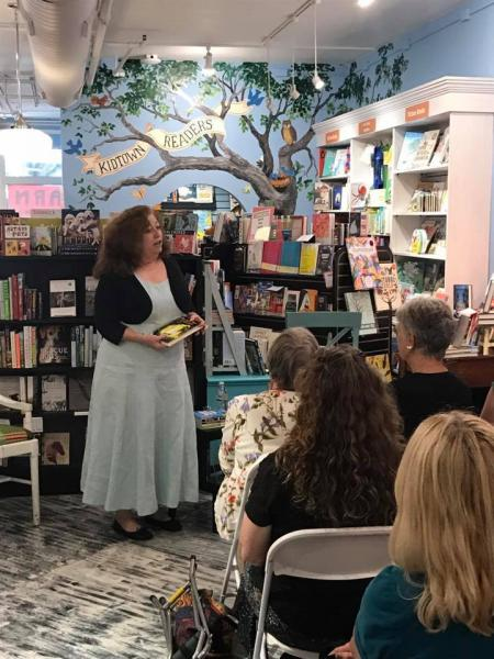 Author and NPR commentator Diane Roberts headlined a Read to Lead event at Midtown Reader last month.