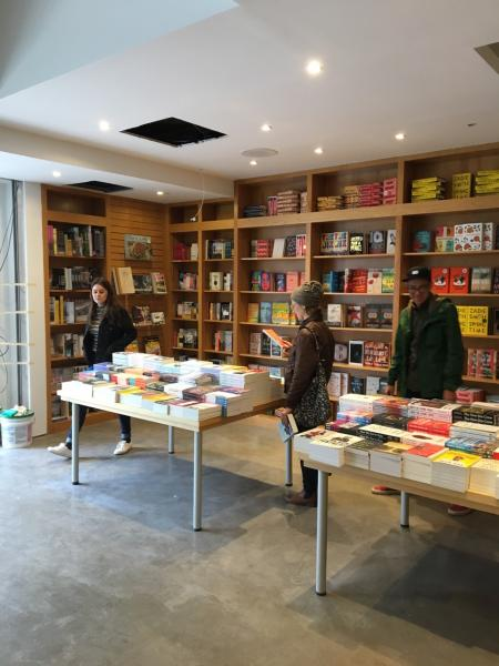 Interior of Greenlight Bookstore's second location