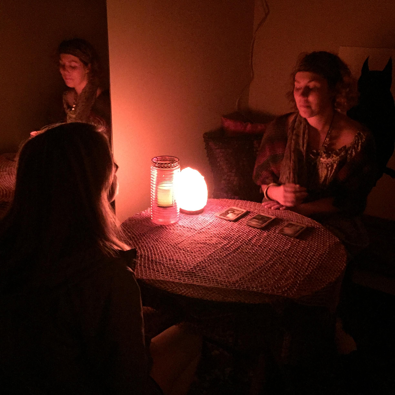 Tarot card reading at Phoenix Essex.