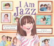 I Am Jazz book cover, by Jazz Jennings