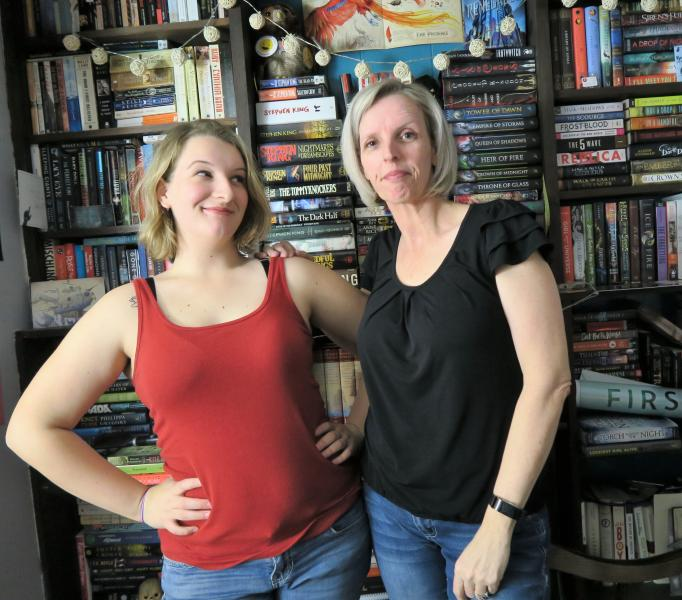 Belle and Karen Opper are opening That Book Store.