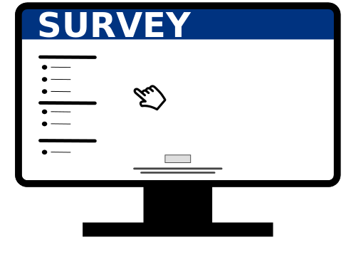 Survey on a computer