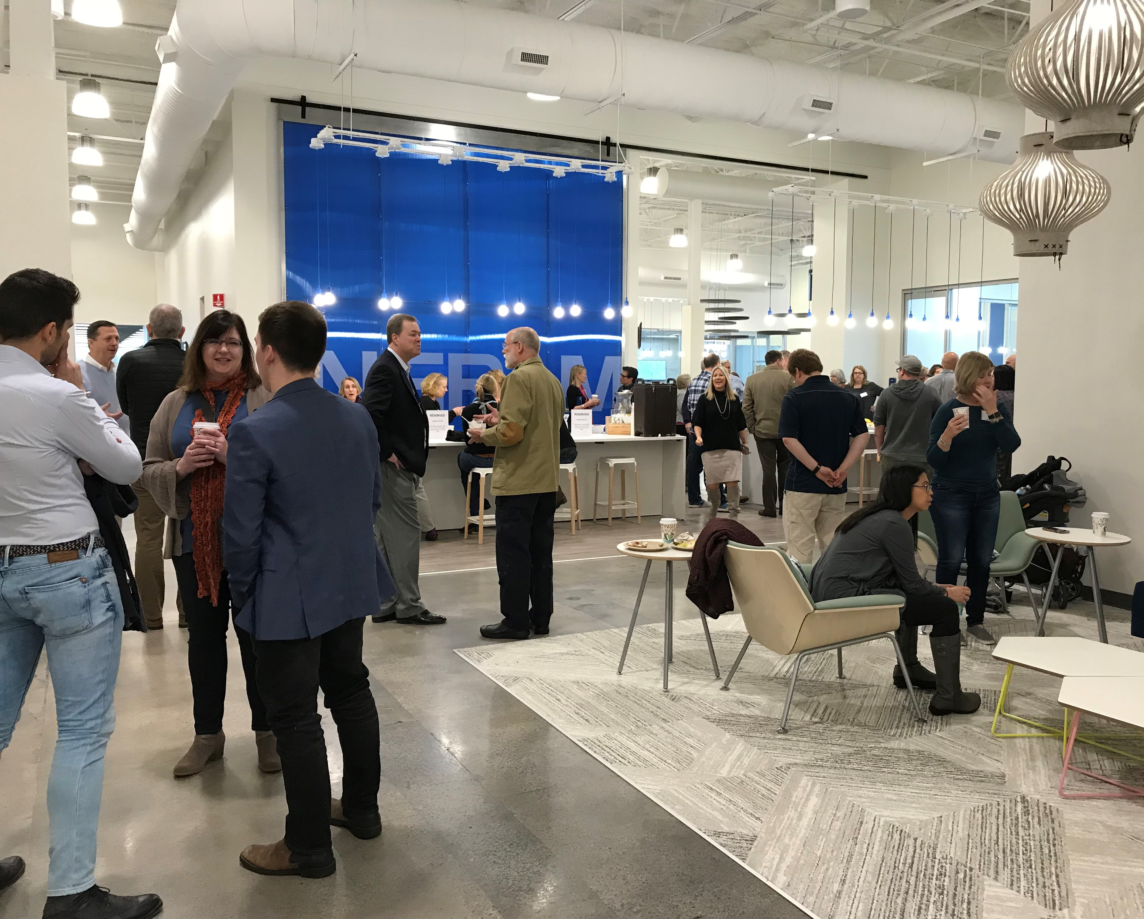Wi13 lead sponsor Ingram invited booksellers to tour its Nashville area facility.