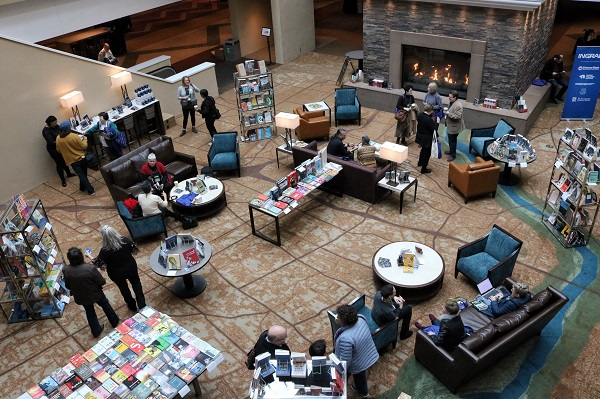 An aerial view of Ingram's Indies by the Fireside.