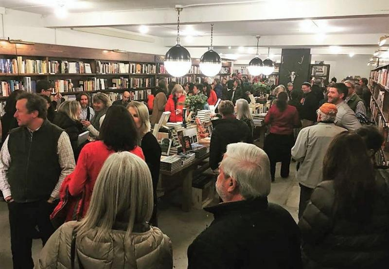 The Jackson Hole Book Trader celebrated its new space on December 15 with a party for supporters, friends and family.