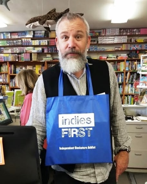 John Rocco visits Children's Book World