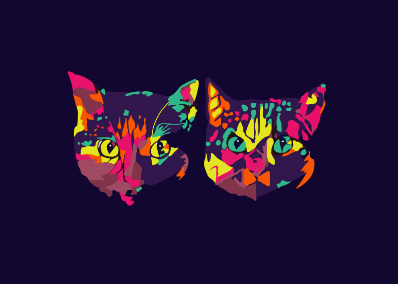 Two Cats logo