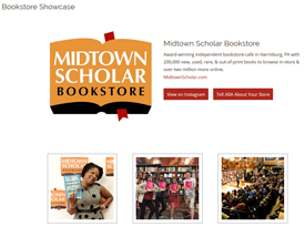 Midtown Scholar bookstore showcase