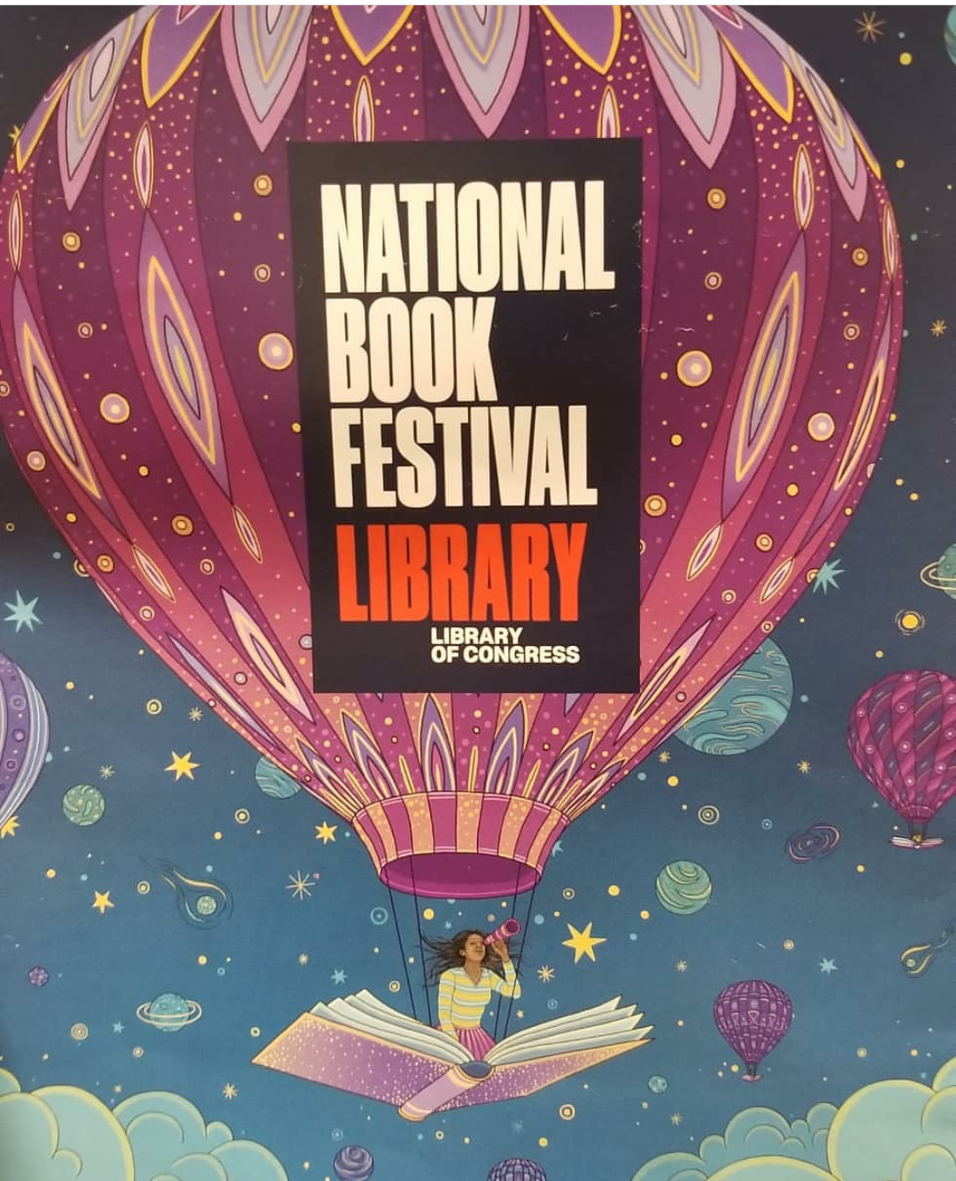 This year's National Book Festival poster