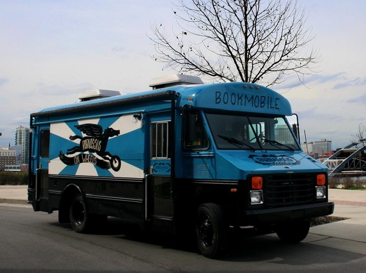 The Parnassus on Wheels Bookmobile based in Nashville, Tennessee