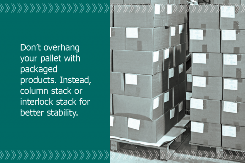 PartnerShip tip: don't overhang your pallet