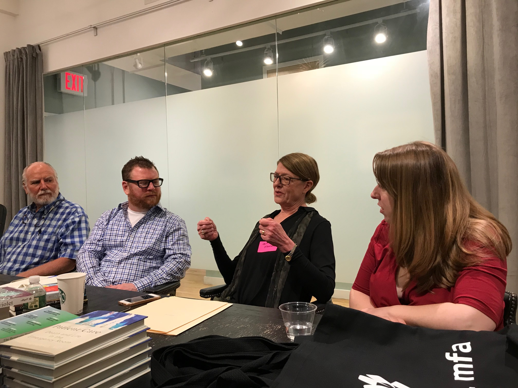 Catapult Editor in Chief Pat Strong pitches upcoming books at Meet the Editor.