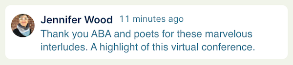 Bookseller praise of the Poetry Interludes