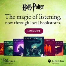 Promo image for Harry Potter audiobooks