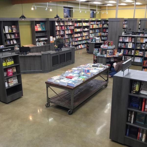 Interior of Print: A Bookstore