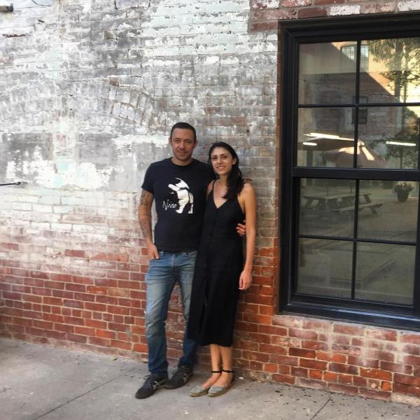 Co-owners Tom Roberge and Emma Ramadan opened Riffraff, a bar and bookstore.